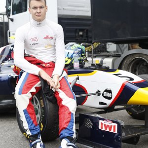 IWI Watches Spa Francorchamps F1 Circuit Arden GP3 Car Robert Visoiu