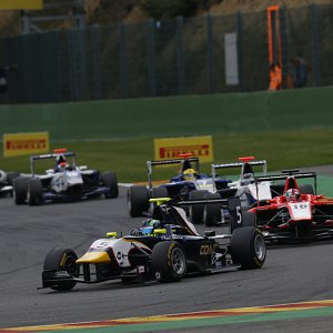 IWI Watches Spa Francorchamps F1 Circuit Arden GP3 Car
