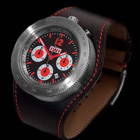 IWI Watches Chronograph Red
