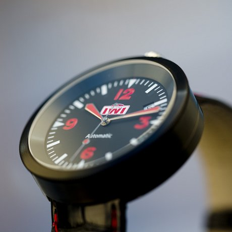 IWI Watches Black Case B-124