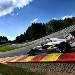 IWI Watches Ambassador Will Stevens Spa Eau Rouge Renault World Series 2014