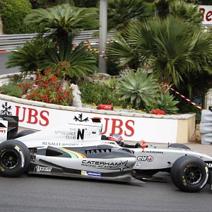 IWI Watches Ambassador Will Stevens Monaco Renault World Series 2014 Hairpin